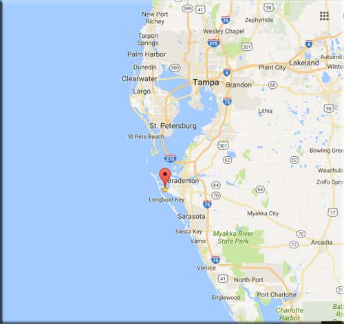 Map Of Florida Bradenton.Sarasota Bay Rv Park Home